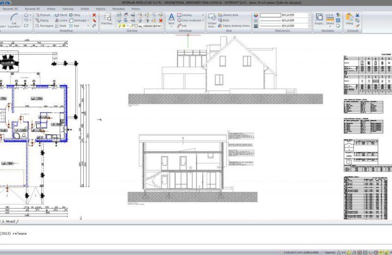 Otwieranie projektów DWG pomiędzy wersjami programu ArCADii, INTERsoft-INTELLICAD i innymi programami CAD